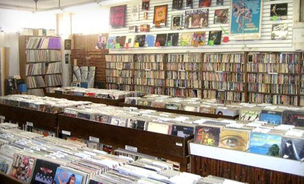 $10 for $20 Worth of Used Records, Books, Comics, and DVDs at Toad Hall