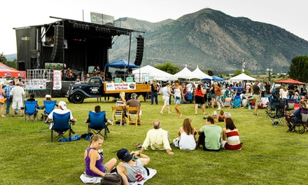 Flagstaff Blues and Brews Music Festival at Continental Driving Range on Saturday, June 20 (Up to 40% Off)