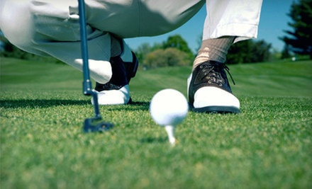 18-Hole Round of Golf with Cart Rental for Two or Four at White Oaks Country Club (Up to 68% Off)