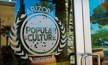Museum Visit for Four, Six, or Eight at Arizona Pop Culture Experience (Up to 55% Off)