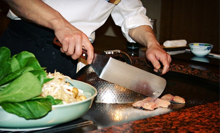 Hibachi for Two or More or Four or More at Nichi Bei Kai (Up to 52% Off)