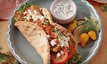 Cuisine at Mediterranean Bistro (Half Off). Two Options Available.