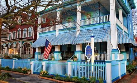 1-Night Stay with Breakfast at Summer Cottage Inn in Cape May, NJ. Combine Up to 4 Nights.
