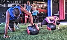 Four- or Six-Week Fitness Boot Camp at Athletic Gaines (68% Off)