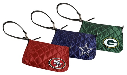 NFL Quilted Wristlet