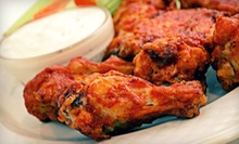 Homestyle Pub Food for Lunch or Dinner at Sideline Cafe (Up to 55% Off)