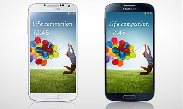 Mobile Phones Direct: Samsung Galaxy S4, £9.99 on 24-Month 4G Contract (£23.99/Month) With 500MB Data, 1000 Minutes and Texts (Save £80*)