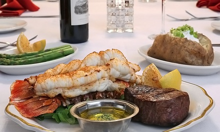 $35 for $60 Worth of Steak, Seafood, and Drinks at The Golden Steer Steakhouse.