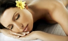 Spa Package for One or Two with a Massage, Aromatherapy Bath, and Vichy Shower Body Exfoliation at Cielo Spa (51% Off)