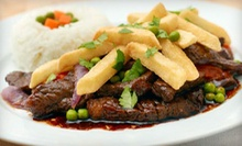 Peruvian Cuisine at Aguaymanto Grill (Half Off). Two Options Available.
