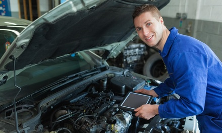 Up to 56% Off AC Clean Up at E&M Auto Service and Tires