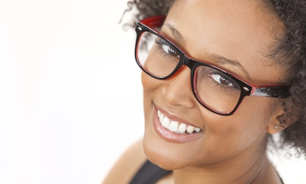 Prescription Eyewear with Optional Exam at Luxoptics and Eyeland (Up to 88% Off)