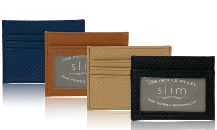 Slim Unisex Low-Profile Wallet