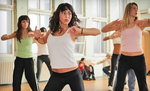 10 or 20 Zumba Classes at Nancy's Dance Factory (Up to 59% Off)