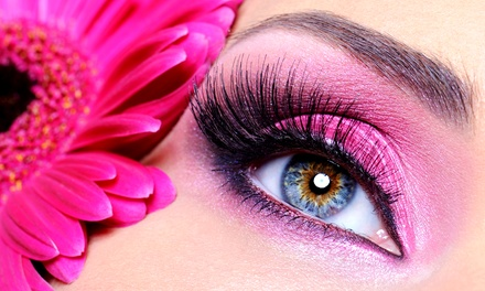 Partial or Full Set of Eyelash Extensions at Apple Lash Studio (Up to 68% Off)