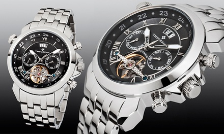 Theorema Marco Polo Watch in Choice of Designs - £179 (Up to 74% Off) With Free Delivery