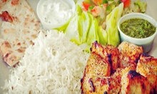 Afghan and Mediterranean Cuisine at Q's Halal Chicken (Half Off). Two Options Available.