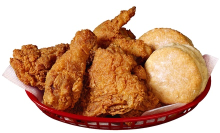 $12 for Two Groupons, Each Good for $10 Worth of Chicken at The Chicken Barn ($20 Value). Three Locations Available.