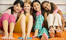 Kids' Spa Day for One, Two, or Six at Seriously Girlie Couture (Up to 71% Off). Four Options Available.