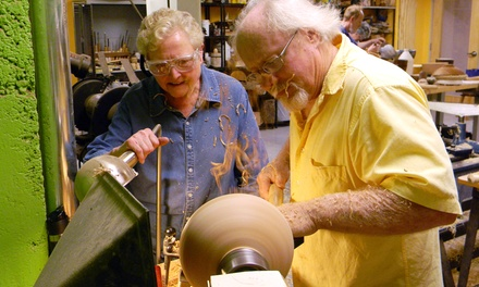 Four- to Six-Week Classes in Clay, Fiber, Graphics, Woodturning, or Metals (Up to 55% Off)