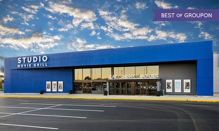 $5 for a Movie Ticket at Studio Movie Grill (Up to $10.25 Value)