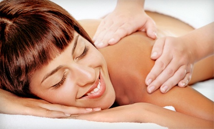 One or Three 60-Minute Thai, Shiatsu, or Custom Massages at Dragonfly Integrative Wellness, Inc. (Up to 59% Off)
