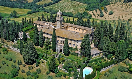 9-Day Tuscan Vacation with Airfare and Car Rental from Great Value Vacations. Price/Person Based on Quadruple Occupancy.