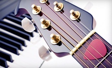 Two, Four, or Six 30-Minute Private Guitar, Piano, Bass, or Ukulele Lessons at Guitar Chicago (Up to 59% Off)