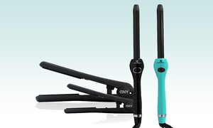 Bny Hairstyling Trio With Flat Irons And Curling Wand