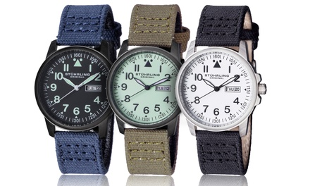 Stührling Original Men's Sport Aviator Watches