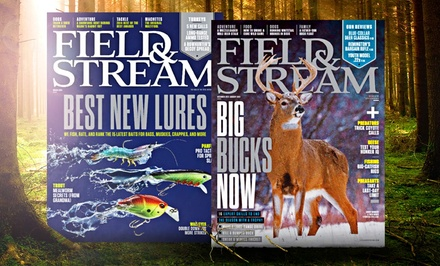 Field & Stream One-Year Subscription (12 Issues)