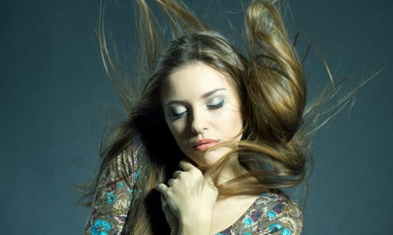 Haircut with Deep-Conditioning Treatment or Ombré Hair Color with Mask at Angela at Red Salon Art (Up to 60% Off)