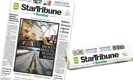 52-Week Sunday-Edition Print Subscription from