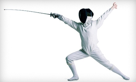 $39 for a Month Children's Beginners' Fencing Package at Los Angeles International Fencing Center ($175 Value)
