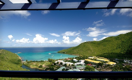 3-, 4-, 5-, or 7-Night Stay for Two with Daily Breakfast & Bottle of Wine at Marquis Boutique Hotel in St. Martin
