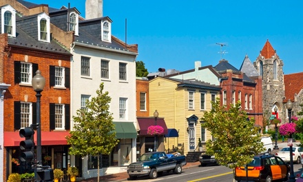 groupon daily deal - Stay for Up to Four at Georgetown Suites Harbour in Washington D.C. with Dates into June