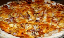 Pizza at Aleda's Pizza (Up to 53% Off). Two Options Available.