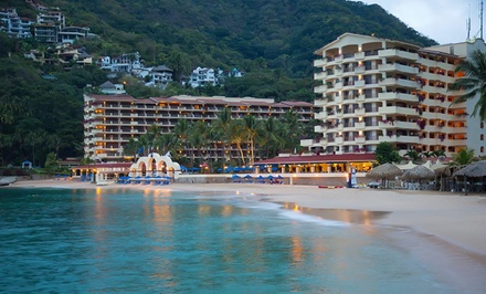 groupon daily deal - 4-Night Barcleo Puerto Vallarta Stay with Airfare. Incl. Taxes & Fees. Price Per Person Based on Double Occupancy.