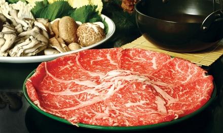 $13 for $25 Worth of Japanese Cuisine at Shabu Restaurant