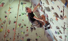 Introductory Learn to Climb Course and One Month of Climbing for One or Two at Red Rock Climbing Center (Up to 57% Off)