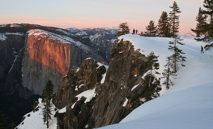 groupon daily deal - 2- or 3-Night Stay for Up to Six at Yosemite's Enchanted Forest in Yosemite National Park. Combine Up to 6 Nights.