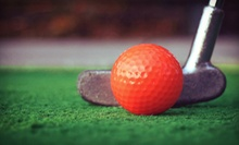 Two Mini Golf Visits for Two Adults or a One-Hour Private Golfing Lesson at The Highlands Golf Park (Up to 52% Off)
