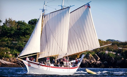 Two-Hour Schooner Trip for Two or Four Plus Admission to Maritime Gloucester (Up to Half Off)