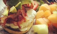 Burgers, Wraps, and Bistro Food for Two or Four at Eastside Bistro (Up to 52% Off)