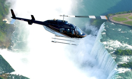 Niagara Falls Helicopter Tour for 2, 4, or 6 from National Helicopters Inc. (Up to 43% Off)