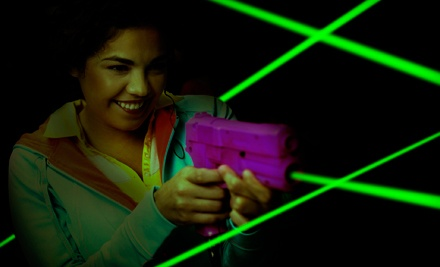 $20.99 for Laser Tag for Up to Four with Drinks and Arcade Credits at Lazer X (Up to $77 Value)