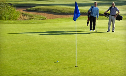 Day of Unlimited Golf with Cart Rental for Two or Four at Sunrise Ridge Golf Course in Colman (Up to 63% Off)