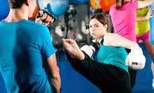 5, 10, or 20 Fight Shape and Ground & Pound Kickboxing Classes at Crispim BJJ Barra Brothers (Up to 85% Off)