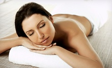 Spa Package with Peace Massage, Custom-Blend Facial, and Option for Body Wrap at The Body Bar (Up to 53% Off)