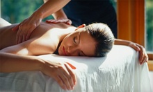 One 60- or 90-Minute Massage or One 60-Minute Body Wrap at The Massage Center (Up to 55% Off)